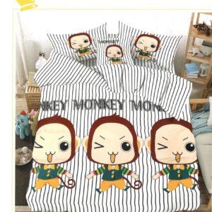 Lenjerie de pat din bumbac satinat de lux K001