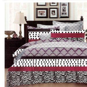 Lenjerie de pat din bumbac satinat de lux SDS34
