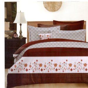 Lenjerie de pat din bumbac satinat de lux SDS42