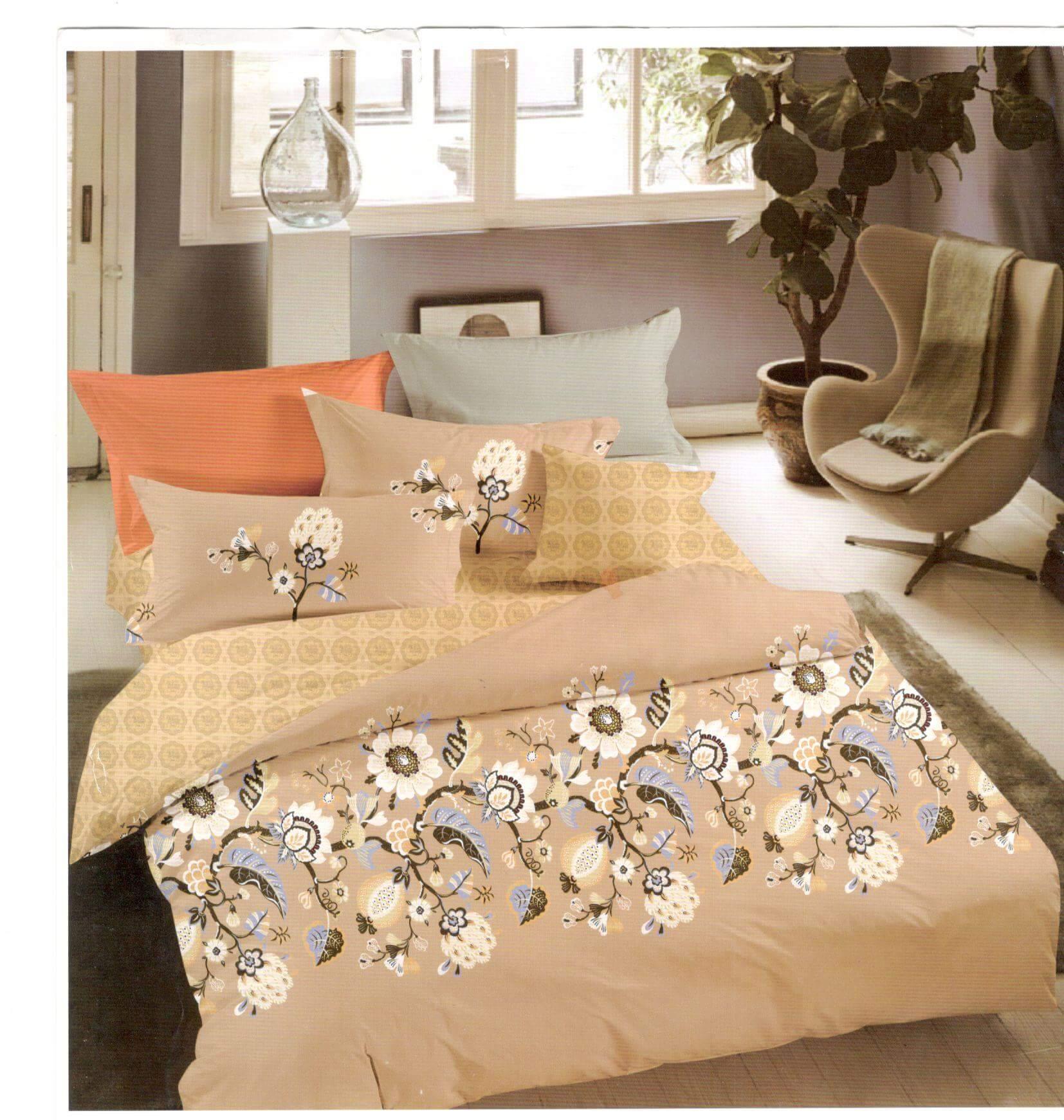 Lenjerie de pat din bumbac satinat de lux SDS43