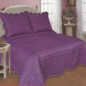 Cuvertura de pat mov pentru doua persoane
