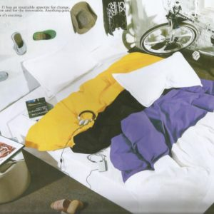 Lenjerie de pat moderne din bumbac cu finet