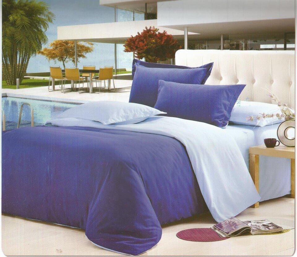 Lenjerie pat moderna creata din bumbac cu finet