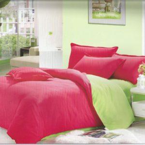 Lenjerie de pat moderna realizata din bumbac cu finet