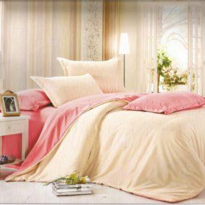 Lenjerie eleganta de pat din bumbac cu finet