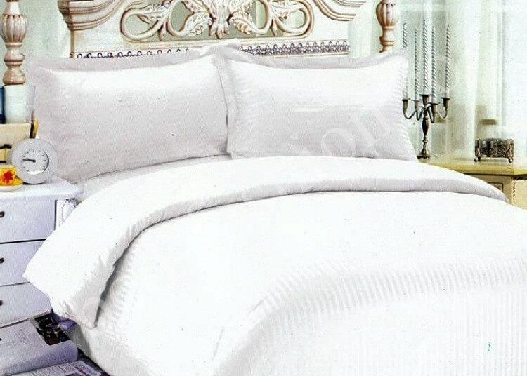 Lenjerie de pat Damasc realizata din bumbac 100%