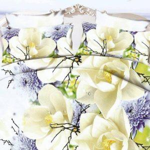 Lenjerie cu magnolie alba
