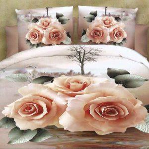 Lenjerie nud cu trandafiri