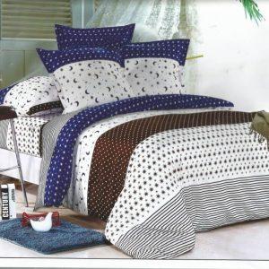 Lenjerie de pat confectionata din bumbac