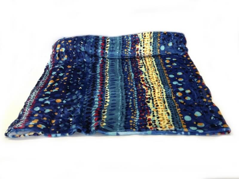 Patura Cocolino multicolora din bumbac si polyester