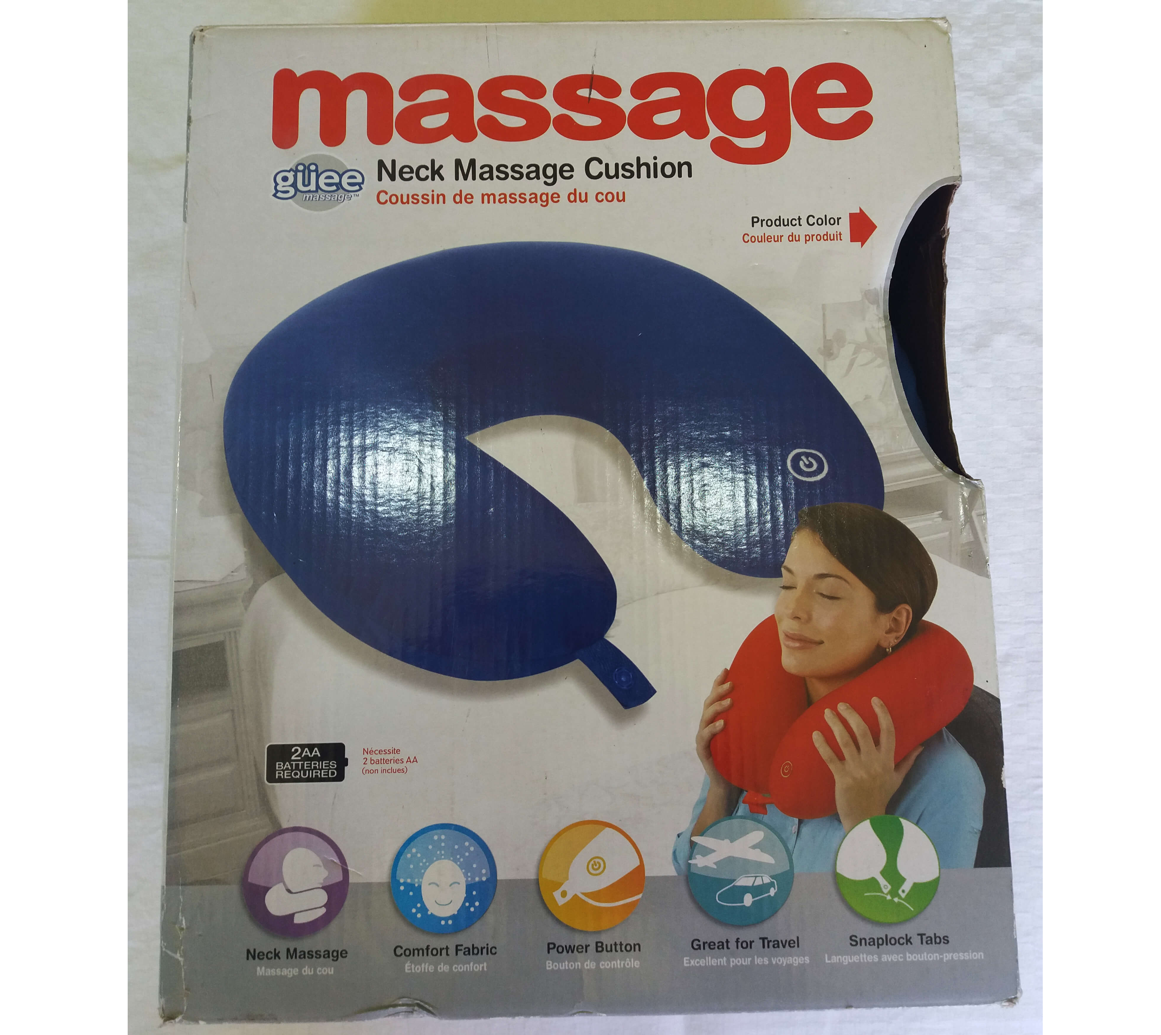 Perna de gat cu functie de masaj!