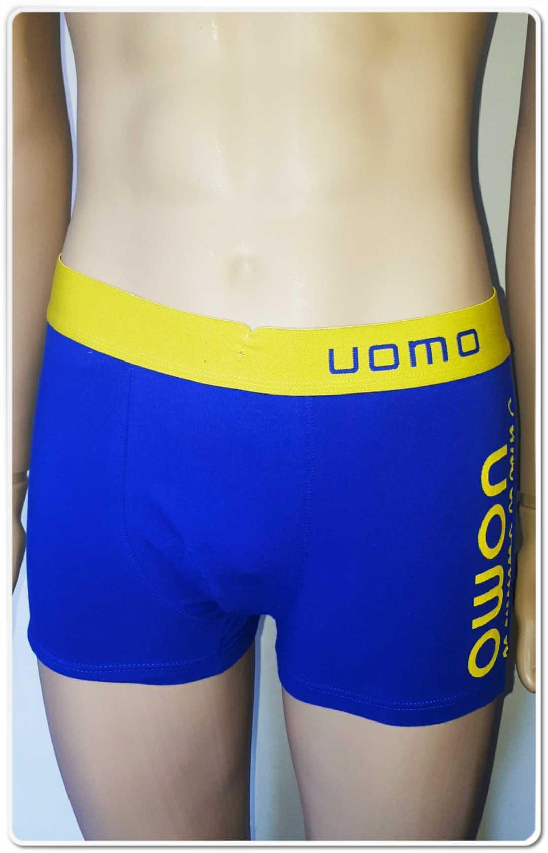Boxer UOMO albastru